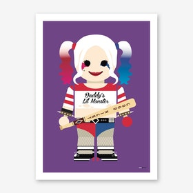 Toy Harley Quinn Art Print