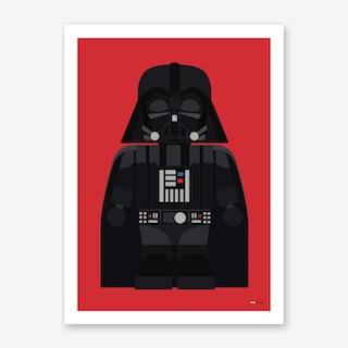 Toy Darth Vader Art Print