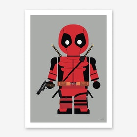 Toy Deadpool Art Print