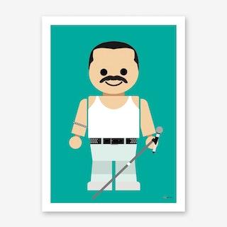 Toy Freddie Mercury Art Print
