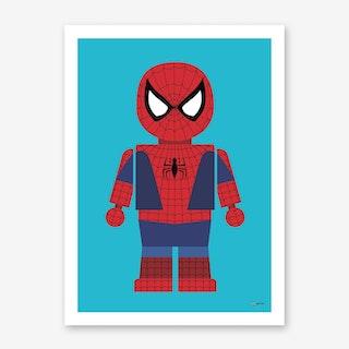 Toy Spider Man Art Print