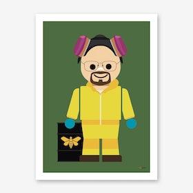 Toy Heisenberg Art Print