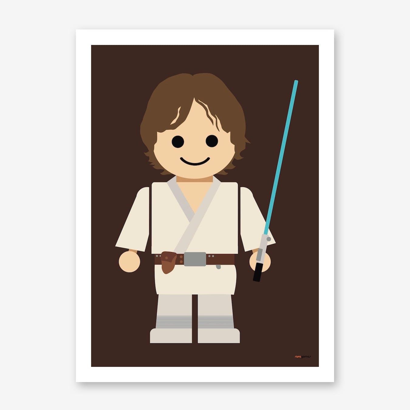 Toy Luke Skywalker