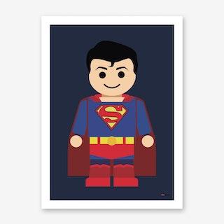 Toy Superman Art Print