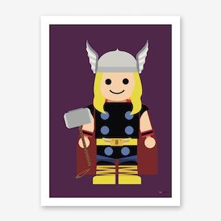 Toy Thor Art Print