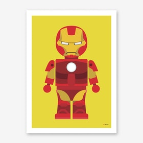 Toy Iron Man Art Print