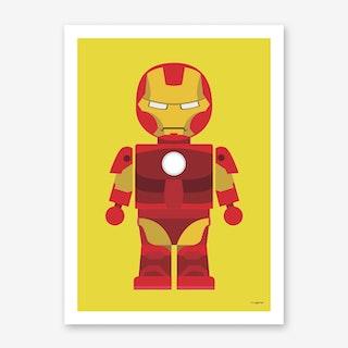 Toy Iron Man Art Print