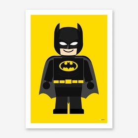 Toy Batman Art Print