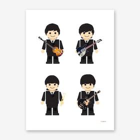Toy Beatles 01 Art Print