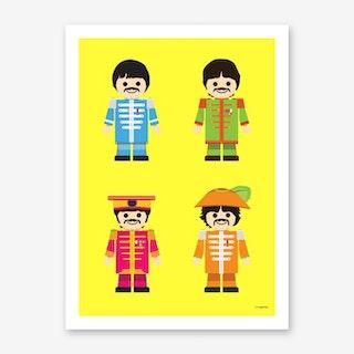 Toy Beatles 02 Art Print