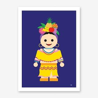 Toy Carmen Miranda Art Print