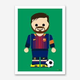 Toy Messi  Art Print