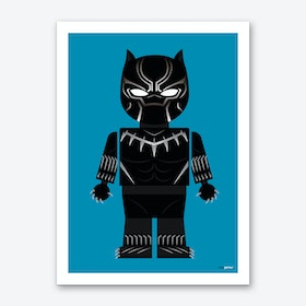 Toy Black Panther Art Print