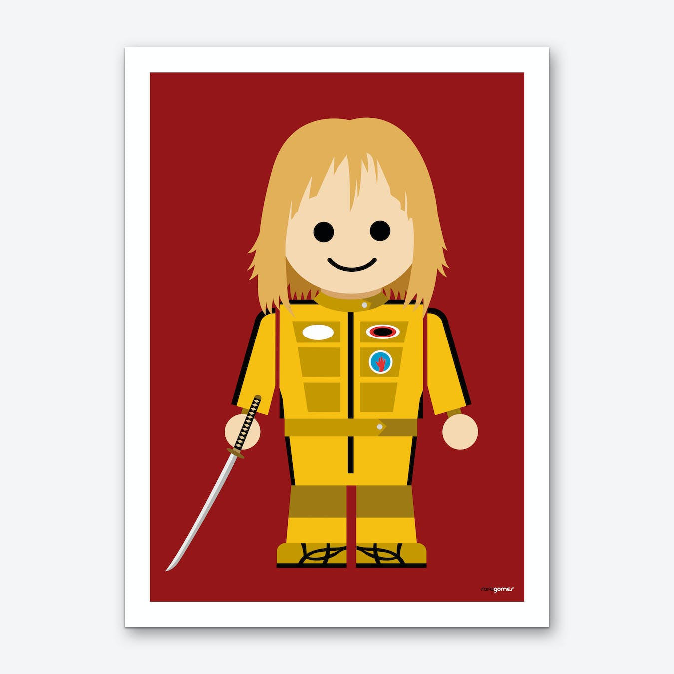 Toy Kill Bill Art Print