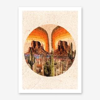 Desert Dawn Art Print