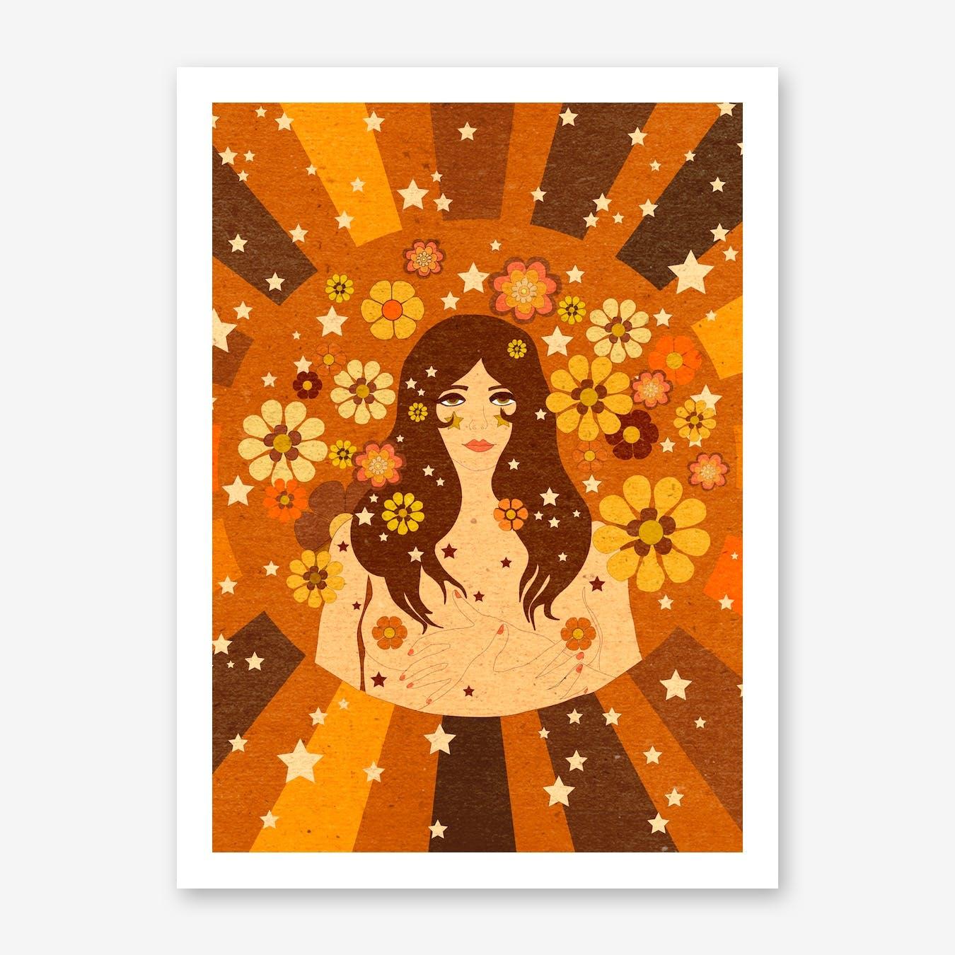 Flower Girl Power Girl