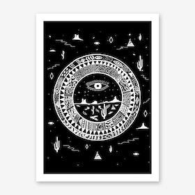 Interstellar Deserts Art Print