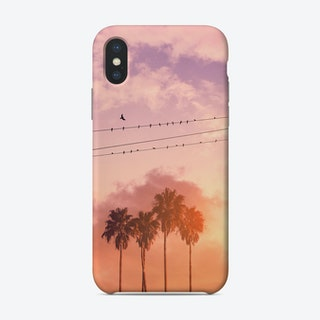Birds On A Wire Phone Case