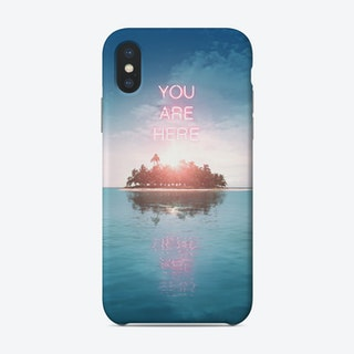 You Are Here Phone Case