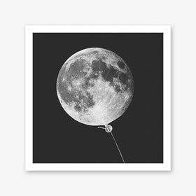 Moonballoon Art Print