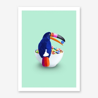 Loop Toucan Art Print