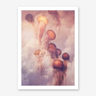 Jellyfish in the Sky Art Print