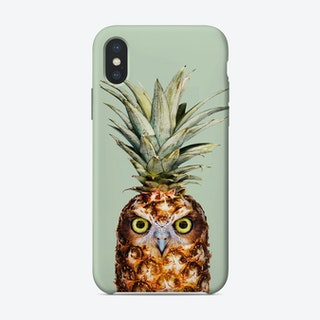 Pineapple Owl iPhone Case