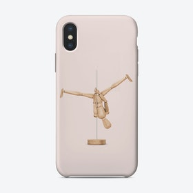 Poledance Mannequin iPhone Case