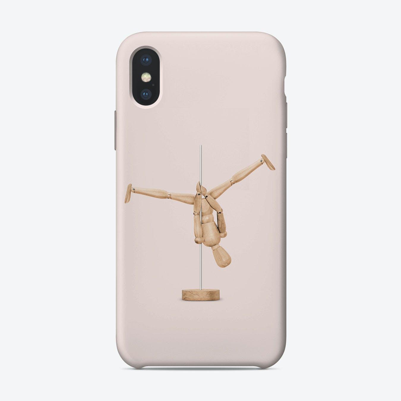 Poledance Mannequin iPhone Case