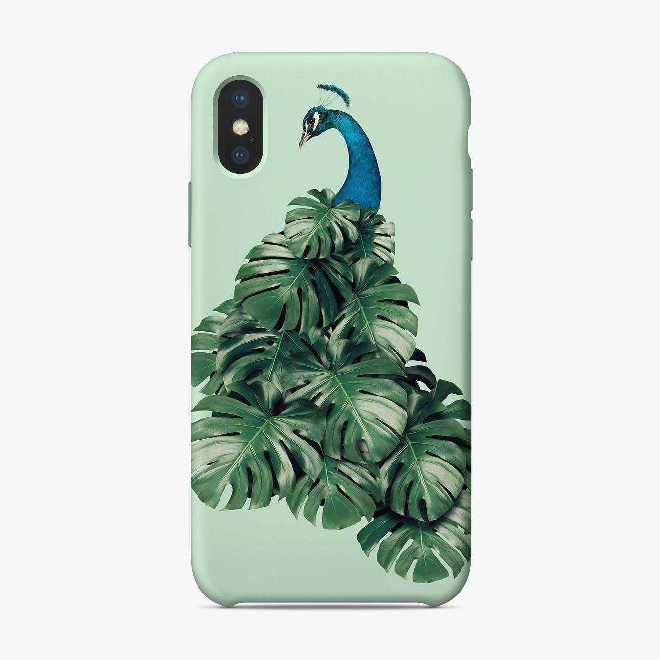 Monstera Bird iPhone Case