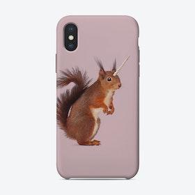 Einhoernchen iPhone Case