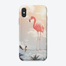 Flamingo & Friends iPhone Case