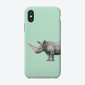 Ice Cream Rino iPhone Case