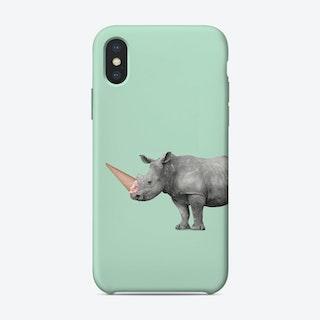 Ice Cream Rino iPhone Case