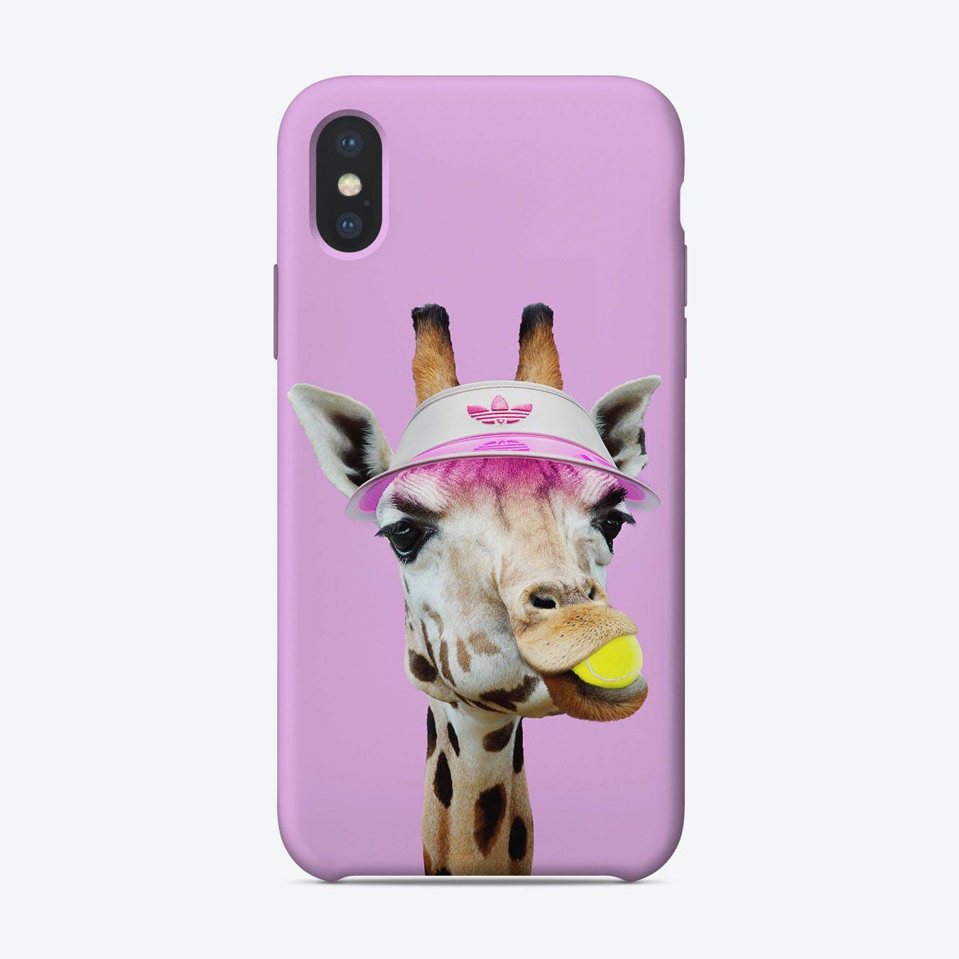 Tennis Giraffe iPhone Case