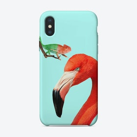 Colorful Friends iPhone Case