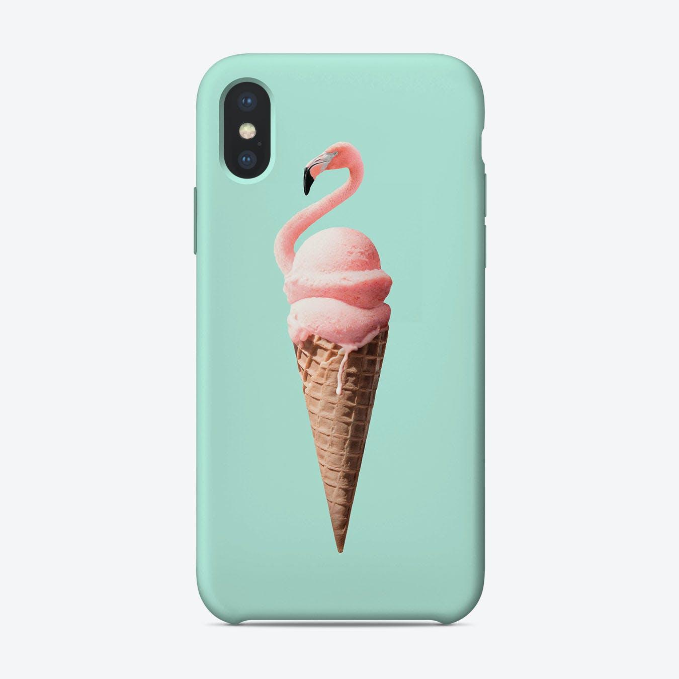 Flamingo Cone iPhone Case