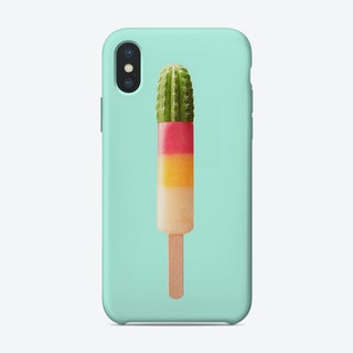 Cactus Popsicle iPhone Case