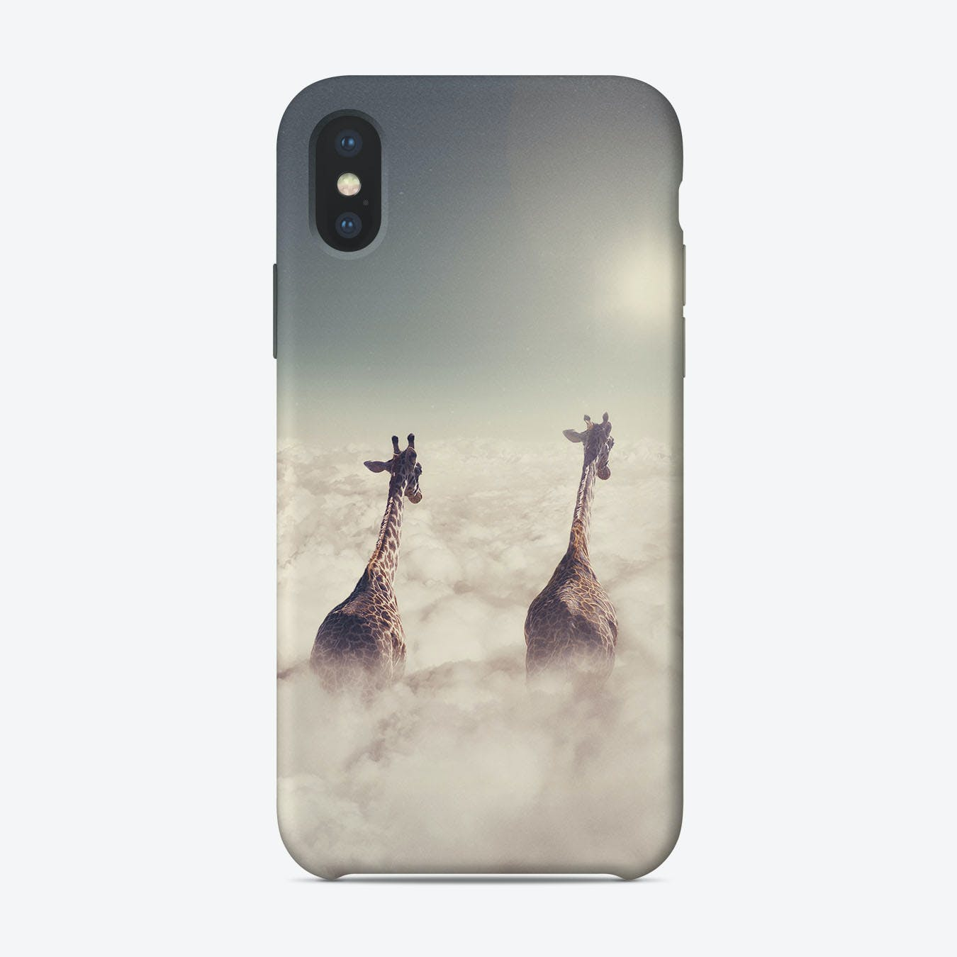 Giant Giraffes  iPhone Case