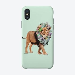 Succulent Lion iPhone Case