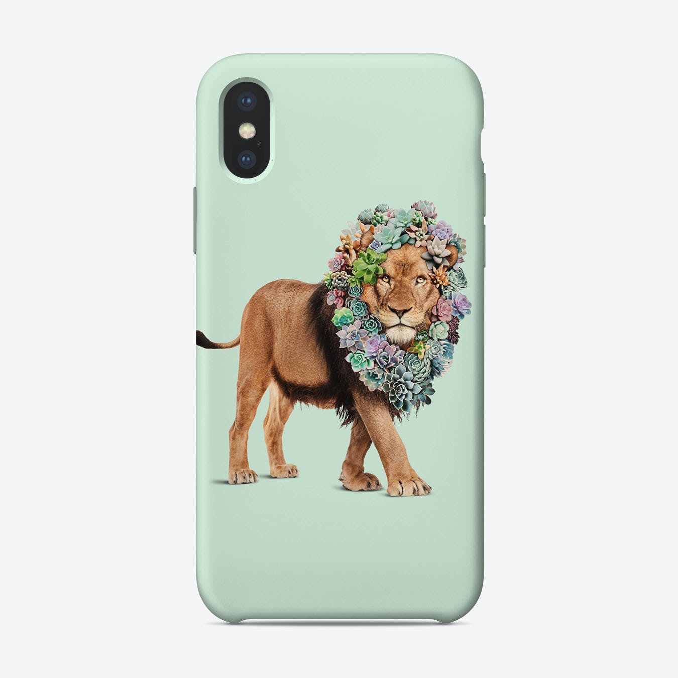 Succulent Lion iPhone Case