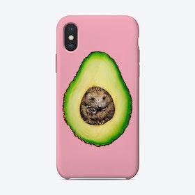 Hedgehocado iPhone Case