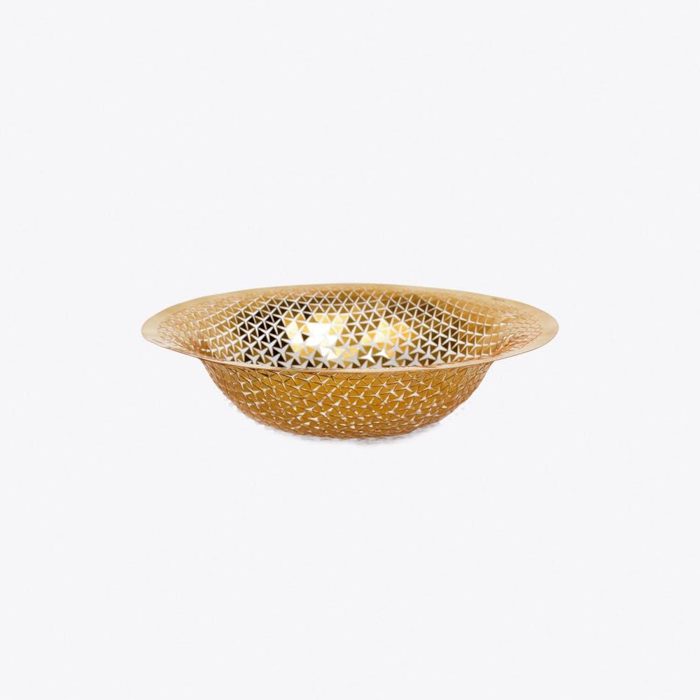 Push Solo Jewellery Organizer in Brass