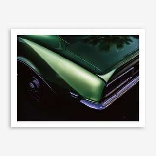 Green Camaro Art Print
