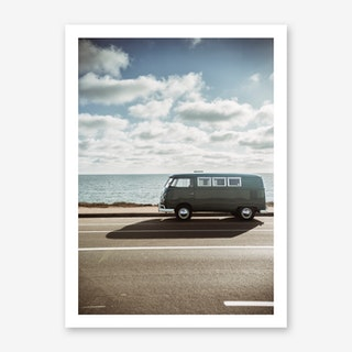 Wolfsburg Surf Art Print