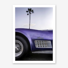 Cali Purple Art Print