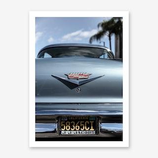 California Cadillac Art Print