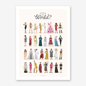 Who Run the World Art Print