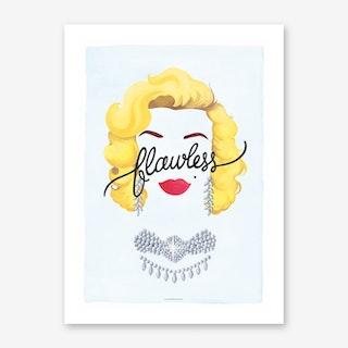 Flawless Marilyn Art Print