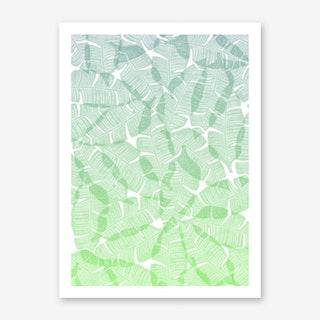 Palma Lime Drink Art Print